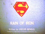 Rain Of Iron, Part 1 Cartoon Character Picture