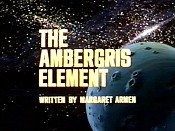 The Ambergris Element Cartoon Character Picture