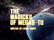 The Magicks Of Megas-Tu Cartoon Character Picture
