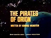 The Pirates Of Orion Picture Into Cartoon
