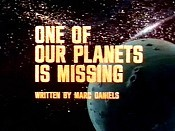 One Of Our Planets Is Missing Cartoon Picture