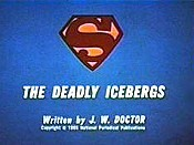 The Deadly Icebergs Cartoon Character Picture