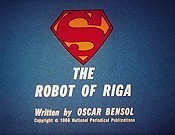 The Robot Of Riga Free Cartoon Pictures