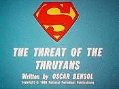 The Threat Of The Thrutans Cartoon Character Picture