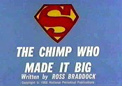The Chimp Who Made It Big Picture To Cartoon