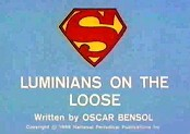 Luminians On The Loose, Part 1 Cartoon Picture