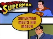 Superman Meets His Match Free Cartoon Picture