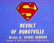 Revolt Of Robotville Cartoon Character Picture