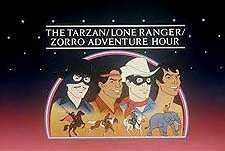 The Tarzan / Lone Ranger / Zorro Adventure Hour  Logo