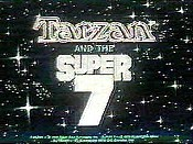 Tarzan and the Super 7  Logo