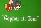 Gopher It, Tom Picture Into Cartoon