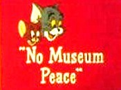 No Museum Peace Cartoon Character Picture