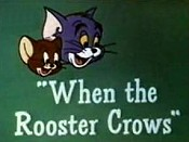 When The Rooster Crows Cartoon Character Picture