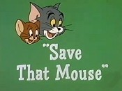 Save That Mouse Cartoon Character Picture