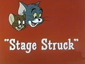Stage Struck Cartoon Picture