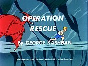 Operation Rescue Cartoon Picture