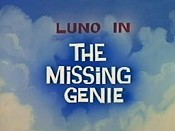 The Missing Genie Cartoon Picture