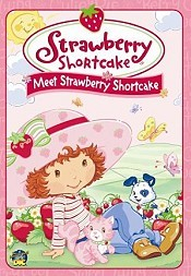 Meet Strawberry Shortcake Cartoon Character Picture