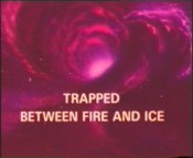 Trapped Between Fire And Ice Cartoon Picture