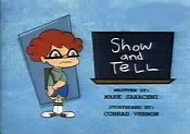 Show And Tell Free Cartoon Picture