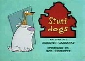 Stunt Dogs Cartoon Picture