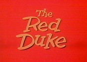The Red Duke Free Cartoon Picture
