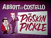 Pigskin Pickle Cartoon Pictures