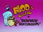 Bow-Wow Buccaneers Cartoon Character Picture
