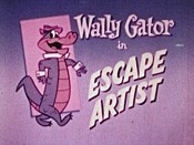 Escape Artist Picture Into Cartoon