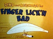 Finger Lick'n Bad Cartoon Picture