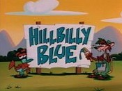 Hillbilly Blue Cartoon Character Picture