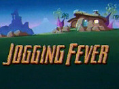 Jogging Fever Cartoon Picture
