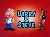 Larry & Steve Cartoon Character Picture