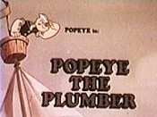 Popeye The Plumber Picture To Cartoon