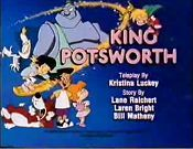 King Potsworth Picture Into Cartoon