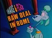 Raw Deal In Rome Cartoon Character Picture
