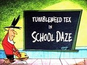 School Daze Cartoon Character Picture