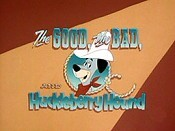 The Good, The Bad, And Huckleberry Hound Cartoon Picture