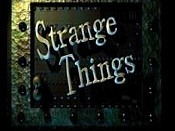 Strange Things Pictures To Cartoon