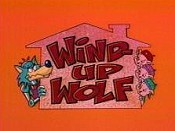 Wind-Up Wolf Cartoon Picture