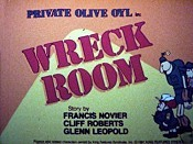 Wreck Room Cartoon Picture