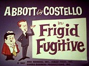 Frigid Fugitive Cartoon Picture