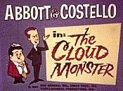 The Cloud Monster Cartoon Character Picture
