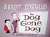 Dog Gone Dog Cartoon Character Picture