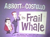 Frail Whale Cartoon Character Picture