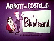 Abbott And Costello In Blunderland Cartoon Pictures