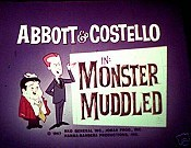 Monster Muddled Cartoon Pictures