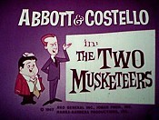 The Two Musketeers Cartoon Picture