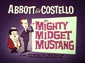 Mighty Midget Mustang Cartoon Picture