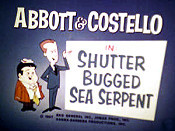 Shutter Bugged Sea Serpent Cartoon Picture
